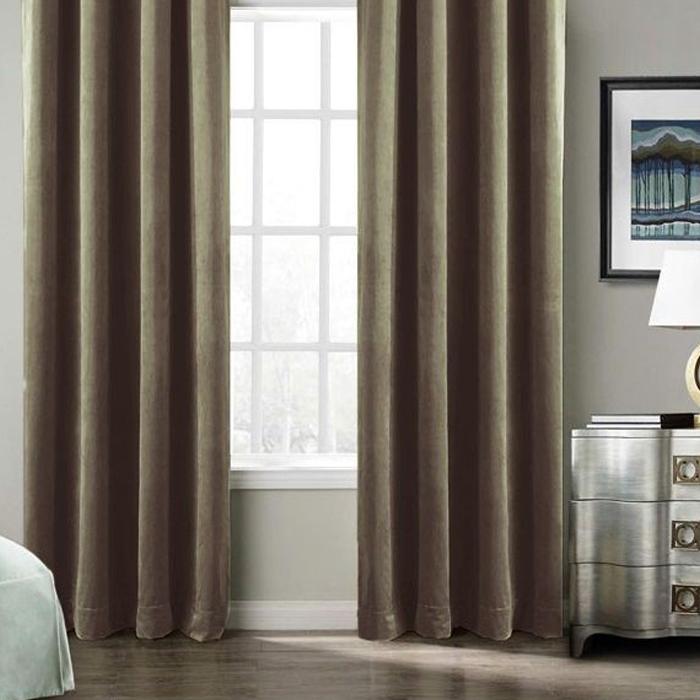 Resim  Premier Home Harmony Fon Perde (Kahverengi) - 140x270 cm
