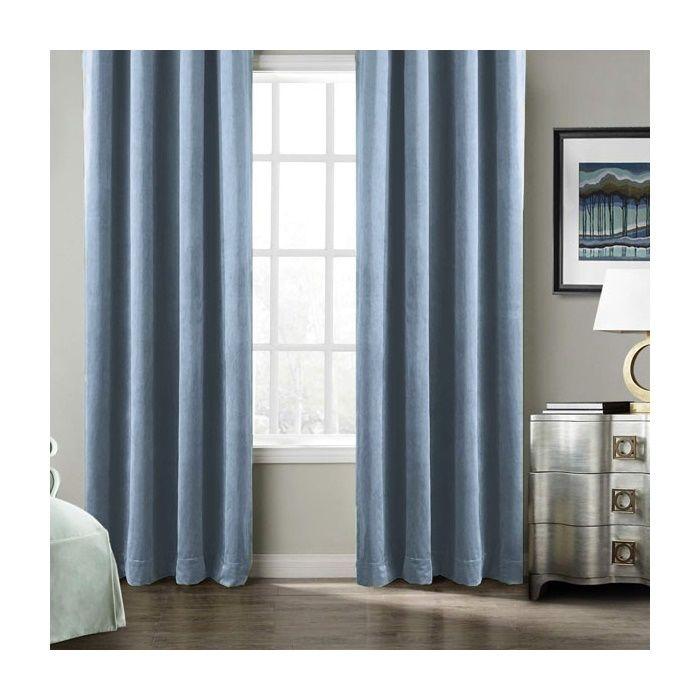 Resim  Premier Home Harmony Fon Perde (Mavi) - 140x270 cm