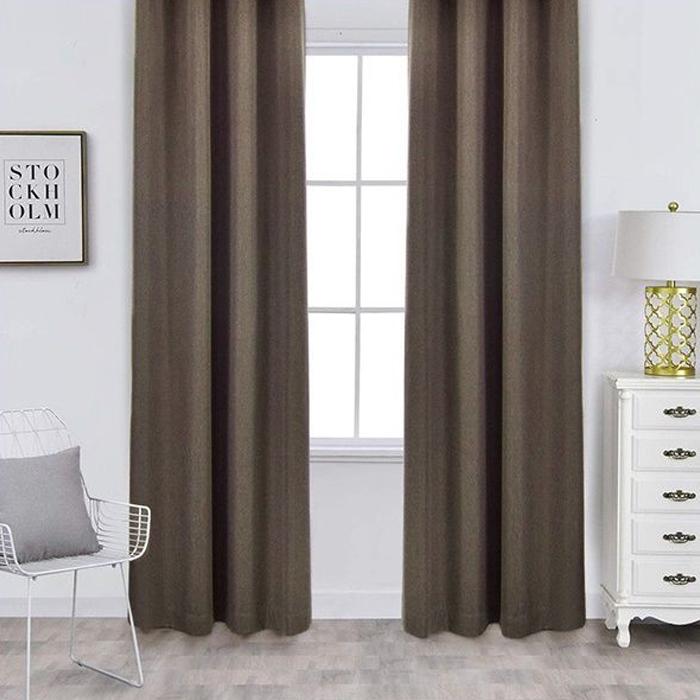Resim  Premier Home Fon Perde (Kahverengi) - 140x270 cm