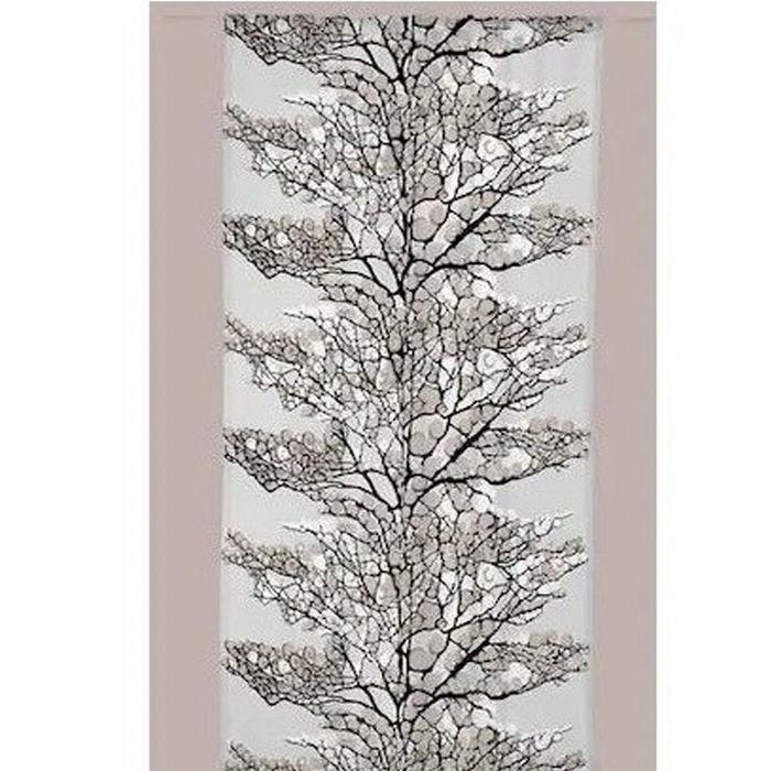 Resim  Melodie Tül Fon Perde (Mavi Beyaz) - 145x250 cm
