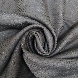 Melodie Jakarlı Fon Perde (Gri) - 140x260 cm