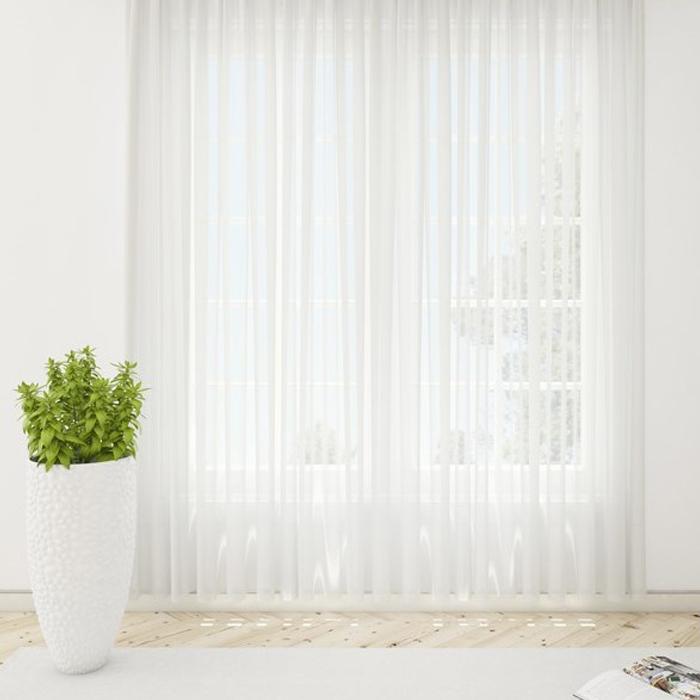 Resim  Premier Home Tül Perde (Krem) - 300x260 cm