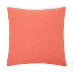 Melodie Keten Kırlent (Kırmızı) - 50x50 cm