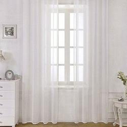 Premier Home Unique Keten Tül (Beyaz) - 200x260 cm