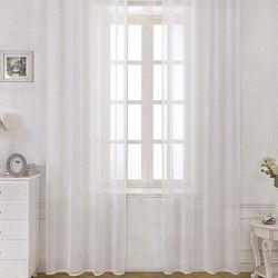 Premier Home Unique Keten Tül (Beyaz) - 250x260 cm