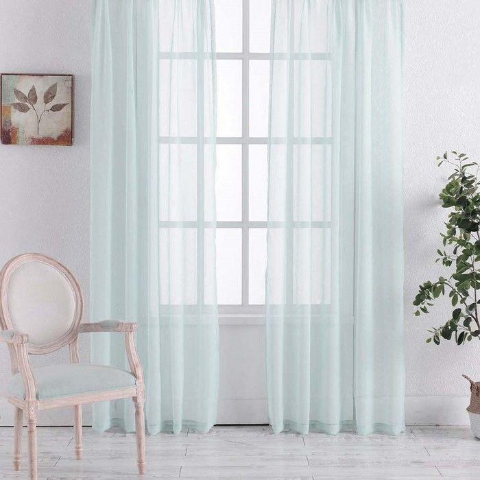 Premier Home Mira Tül Perde (Turkuaz) - 300x260 cm