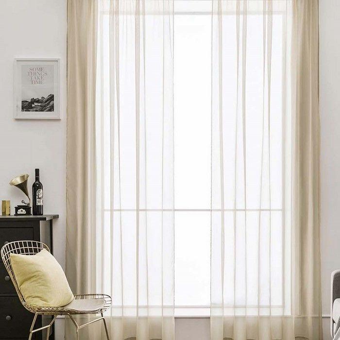Premier Home Mira Tül Perde (Bej) - 300x260 cm
