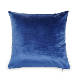Melodie Kadife Kırlent Kılıfı (Mavi) - 45x45 cm