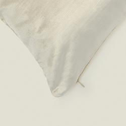 Melodie Kadife Kırlent Kılıfı (Açık Gri) - 45x45 cm