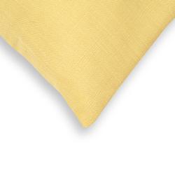 Premier Home Keten Kırlent (Sarı) - 43x43 cm