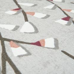 Premier Home Keten Baskılı Kırlent (Gri) - 43x43 cm