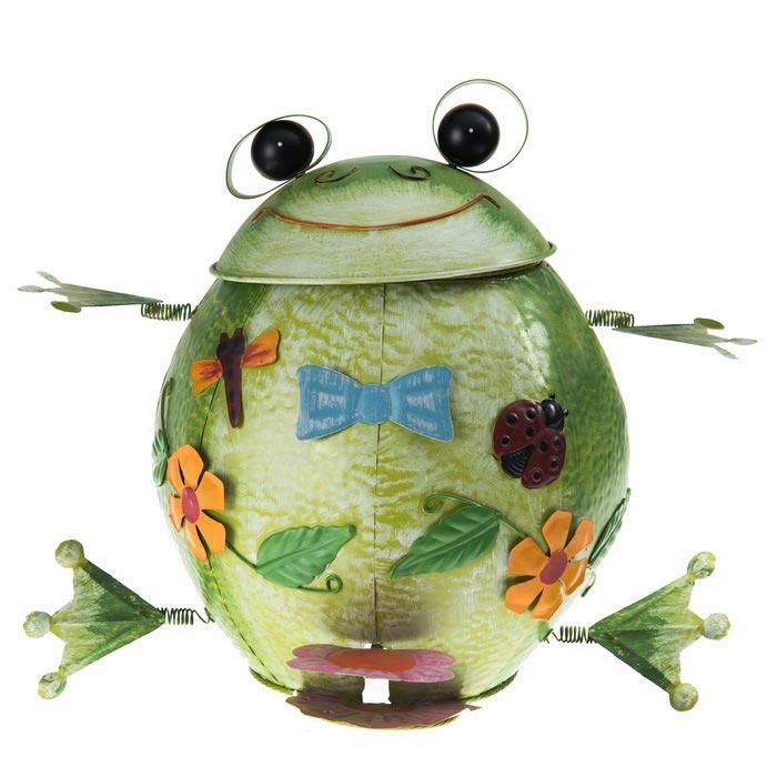 Resim  Simple Living Kurbağa Bahçe Süsü