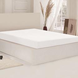 Açelya Penye Tek Kişilik Çarşaf (Beyaz) - 100x200 cm