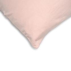 Açelya 2'li Penye Yastık Kılıfı (Pudra) - 50x70 cm