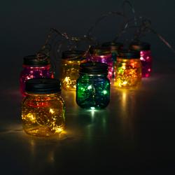 Q-Art Led Işıklı Kavanoz