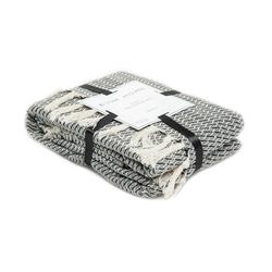 Evim Home Daisy Simli Koltuk Şalı (Antrasit) - 130x170 cm