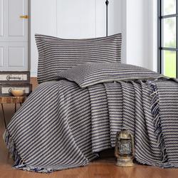 Evim Home Stripe Çift Kişilik Yatak Örtüsü Takımı - Bej