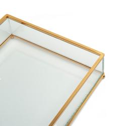 La Deco Profil Çerçeve Tepsi - 17x23 cm