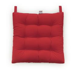 Iris Home Sandalye Minderi (Kırmızı) - 43x43 cm