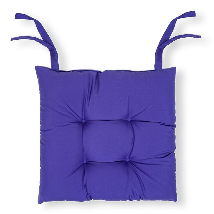 Iris Home Sandalye Minderi (Mor) - 40x40 cm