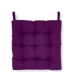 Iris Home Sandalye Minderi (Mürdüm) - 43x43 cm