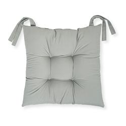 Iris Home Sandalye Minderi 40x40 cm - Gri