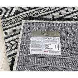 Koza Halı Casa Cotton 21648A Kilim (Gri/Siyah) - 150x220 cm