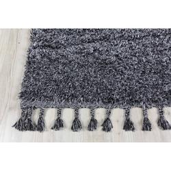 Koza Halı Marakesh 0277I Shaggy Halı (Antrasit) - 120x180 cm