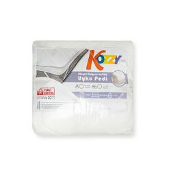 Kozzy Home Sünger Dolgulu 4 Köşe Lastikli Tek Kişilik Uyku Pedi - 100x200 cm