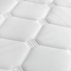 Kozzy Home Sünger Dolgulu 4 Köşe Lastikli Çift Kişilik Uyku Pedi - 160x200 cm