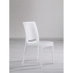 Mobetto Rattan Sandalye – Beyaz