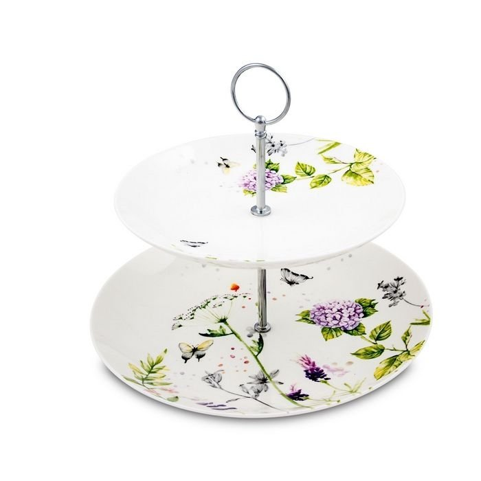 Pierre Cardin 71117276 Crown Bone China Bloom 2 Katlı Servis