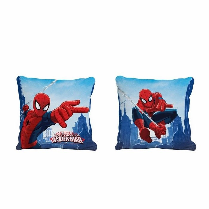 Resim  Taç Spiderman Skyscaper Kırlent - 40x40 cm