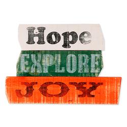 Q-Art Motto Hope Duvar Panosu