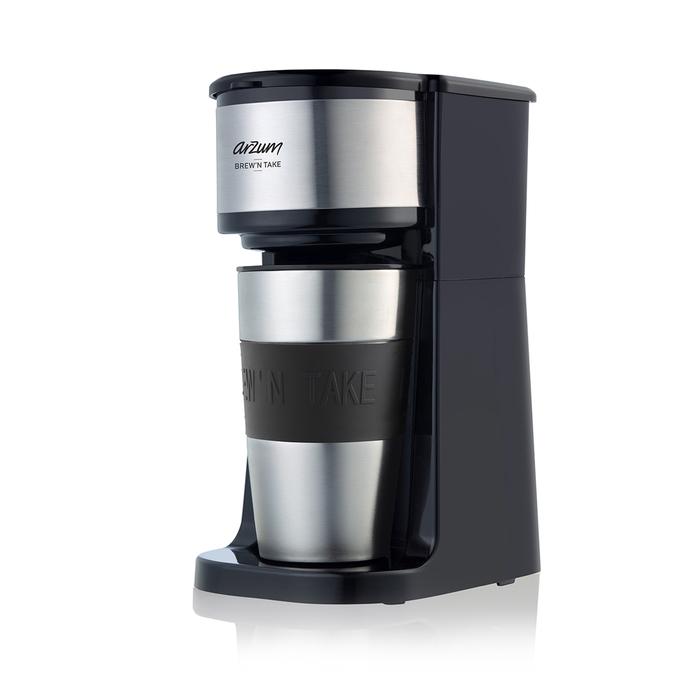 Arzum AR3058 Brew'N Take Kişisel Filtre Kahve Makinesi - Siyah