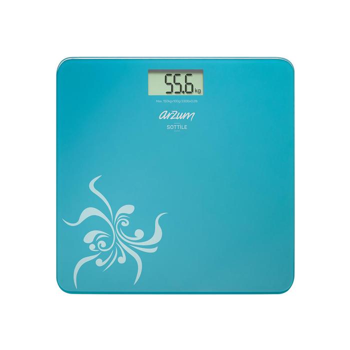 Arzum AR550 Sottile Dijital Cam Baskül - Mavi / 150 kg