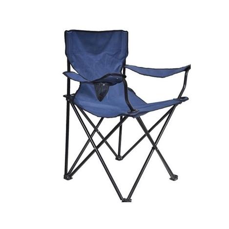Resim  Just Home Katlanır Kamp Sandalyesi - Mavi