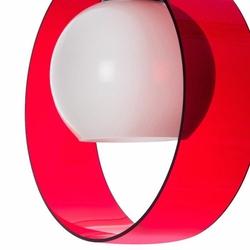 Safir Light Halka Tekli Pleksi Sarkıt - Kırmızı