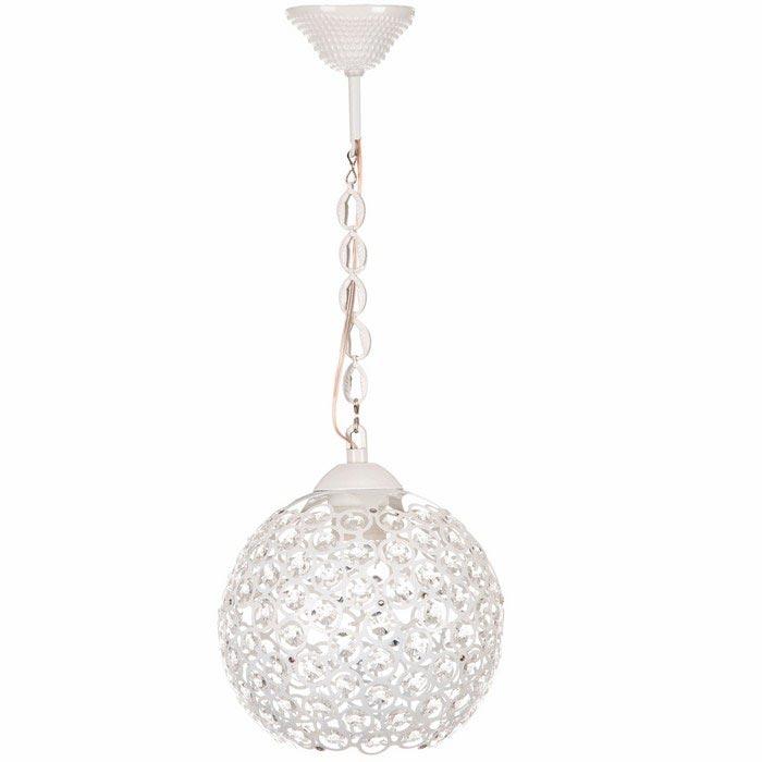 Resim  Safir Light Mercan Tekli Sarkıt - Beyaz