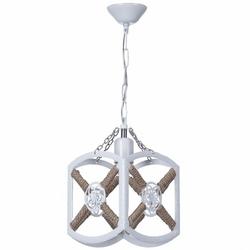 Safir Light Zirve Tekli Halatlı Sarkıt - Beyaz