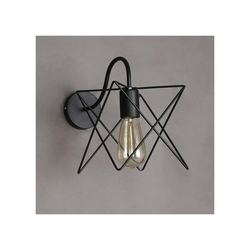 Ora Dekor Triangle Aplik - Siyah