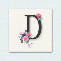 Decoclub Retro Fashion DEC332 MDF Tablo - 30x30 cm