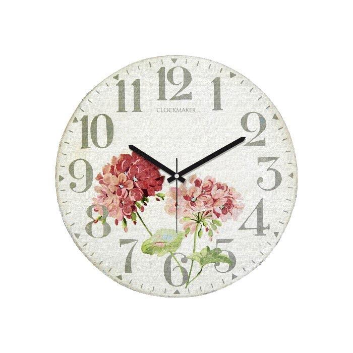 Resim  Clockmaker By Cadran CMM134 Mdf Duvar Saati - 30x30 cm