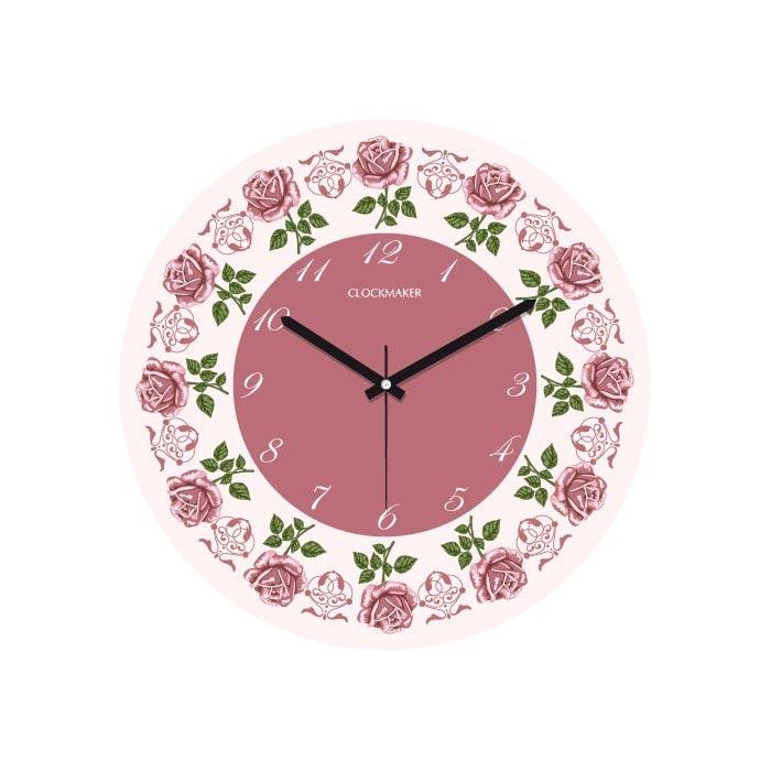 Resim  Clockmaker By Cadran CMM188 Mdf Duvar Saati - 30x30 cm