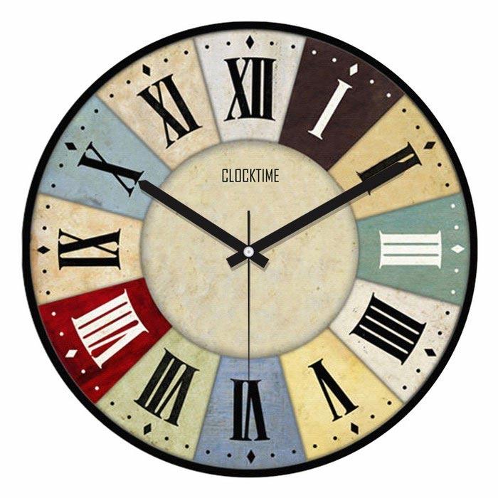 Resim  Clocktime By Cadran CTM7 Duvar Saati - 30x30 cm