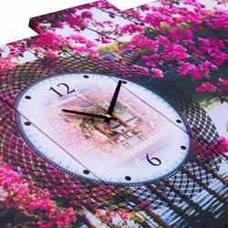 Doku Tablo PGS145 Kanvas Tablo Saat - 5 Parçalı