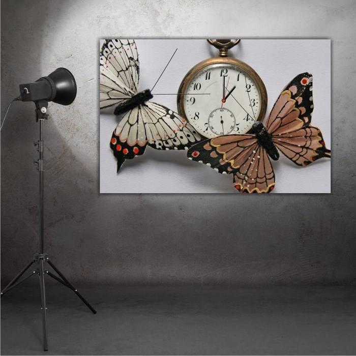 Resim  Modacanvas MT58 Tablo Saat - 60x40 cm