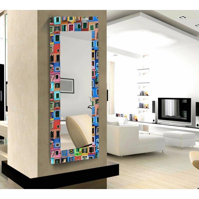 Resim  Modacanvas Hma3 Dekoratif Boy Aynası - 120x40 cm