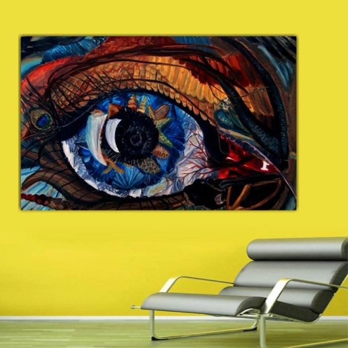 Resim  Doku Tablo Canvas DC166 Tablo - 50x70 cm