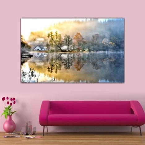 Resim  Doku Tablo Canvas DC180 Tablo - 50x70 cm